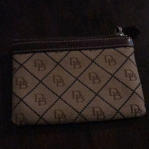 Dooney & Burke coin/card holder purse